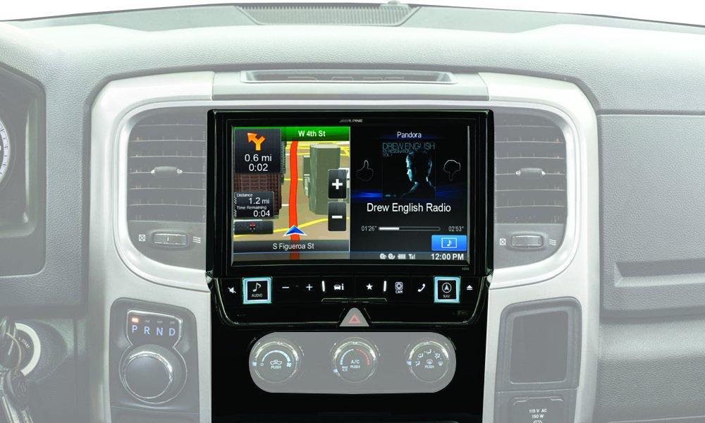 Alpine Electronics X009-RAM 9'' Restyle Dash System for Select Ram 1500, 2500 & 3500 Trucks