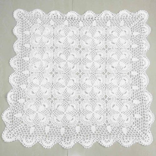kilofly Handmade Crochet Cotton Lace Table Placemats Sofa