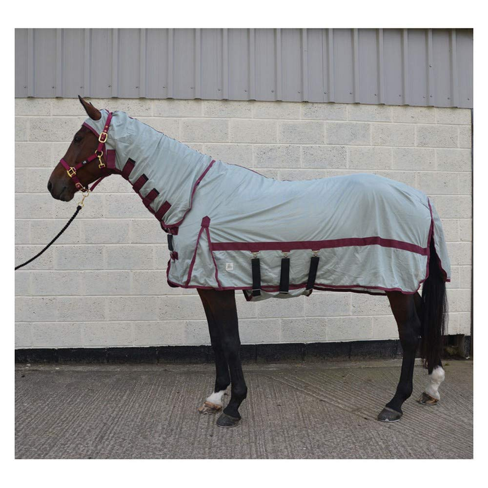 Hy Guardian Fly Rug And Fly Mask (6´ 9´´) (Silver)