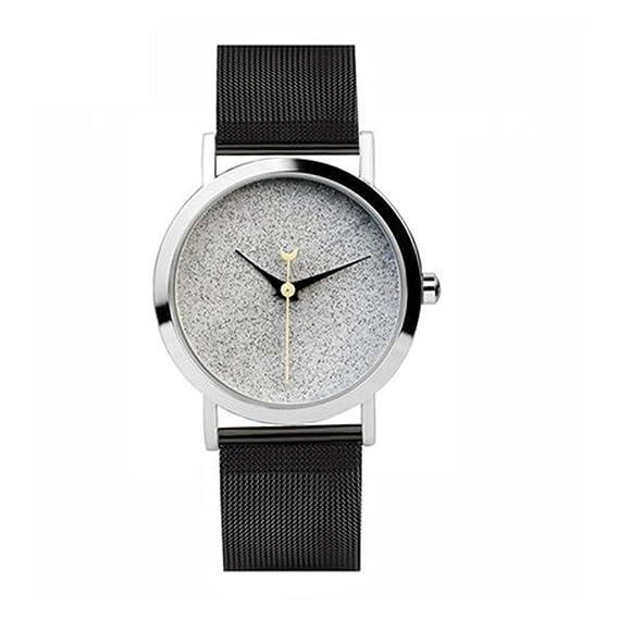 Reloj simple del concepto del diseño/de la estrella/reloj creativo de las señoras