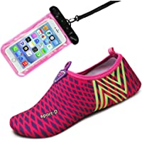 Auken Water Sports Shoes Barefoot Quick-Dry Aqua Socks Shoes for Beach Swim Drifting Surf Yoga Exercise Womens and Mens