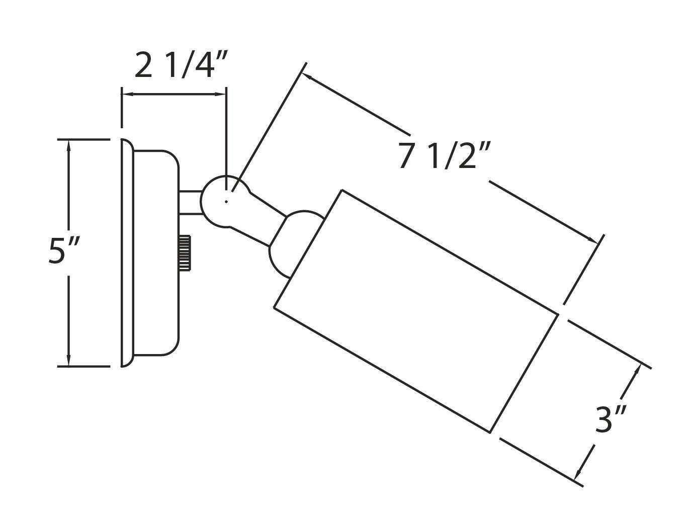 NICOR Lighting 50-Watt Double Bullet Adjustable Outdoor Flood Light, Bronze (11528) by NICOR Lighting (Image #2)