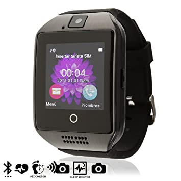 TEKKIWEAR. DMV085. Smartwatch Q18. Compatible con iPhone Y ...