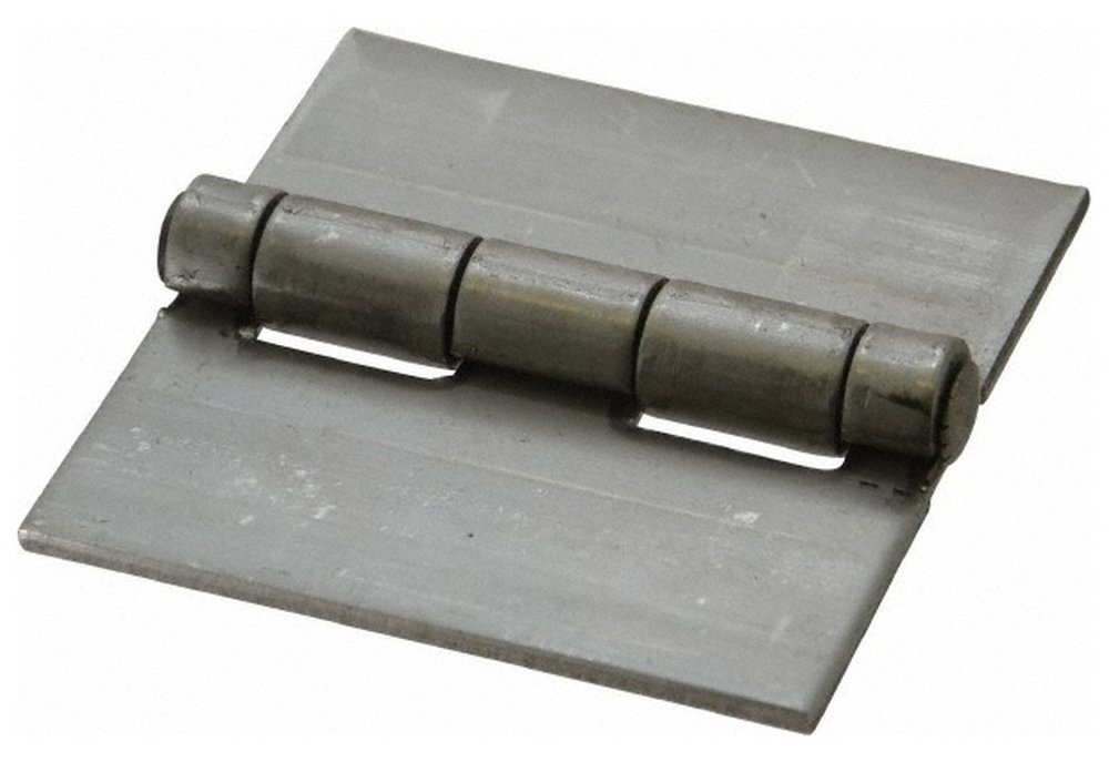3'' Long x 3'' Wide x 0.12'' Thick, 316 Stainless Steel Commercial Hinge, 0.25'' Pin Diam