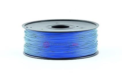 Filamento 3D Fluorescente Azul ABS 3.00 mm para Impresoras 3D ...