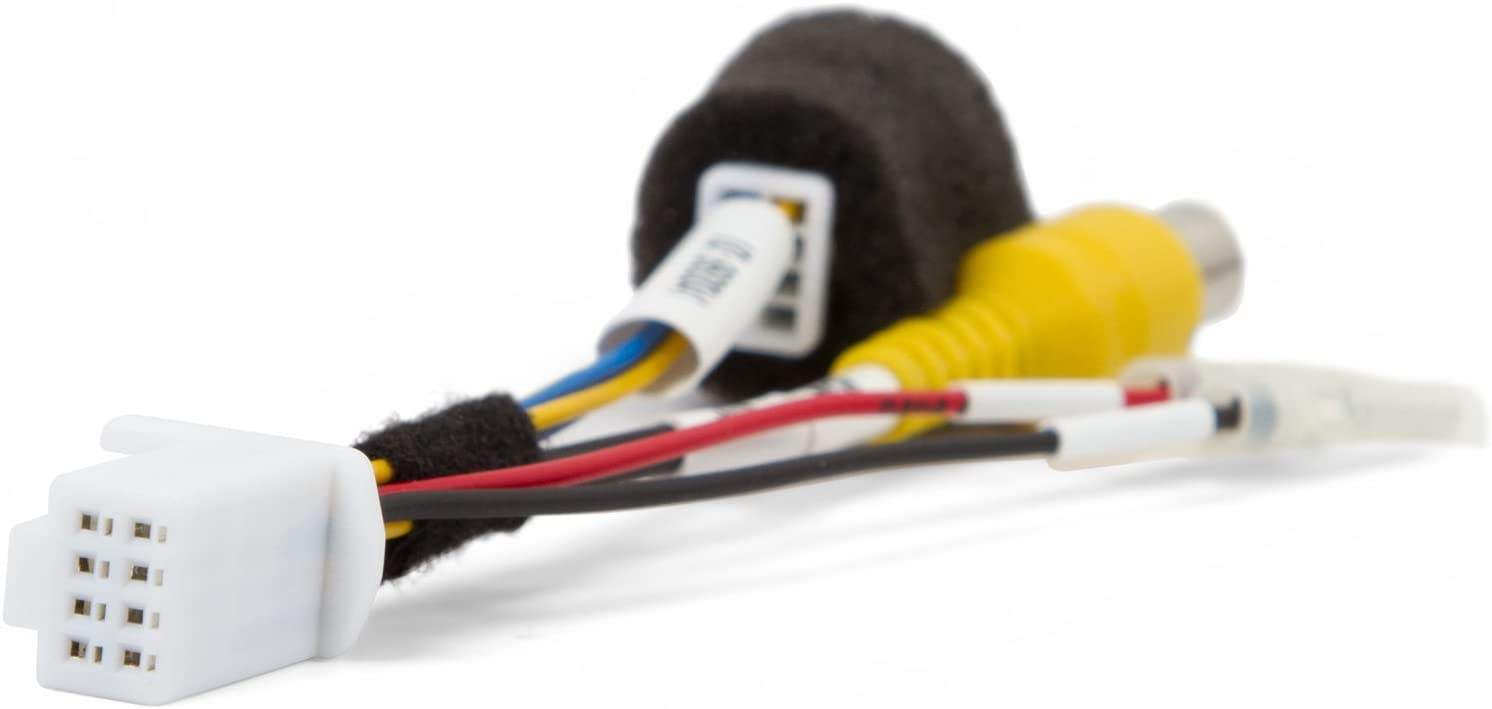 Germes Lab Cable for Rear View Camera Connection in Subaru Impreza Forester Legacy Outback Crosstreck WRX STI