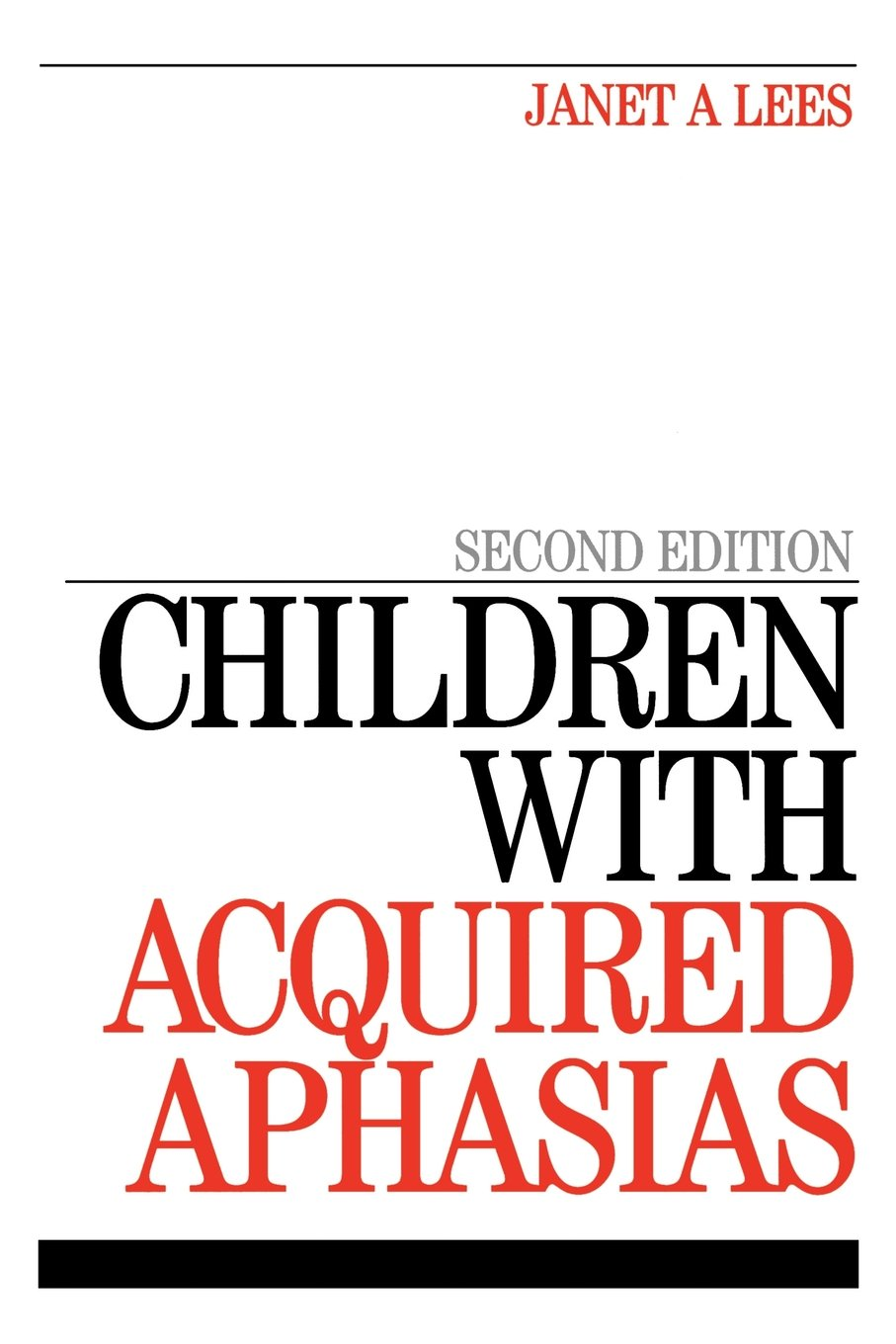 Children with Acquired Aphasias pdf