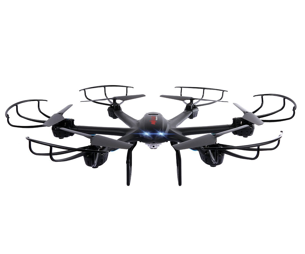 Roll over image to zoom in DBPOWER X600C FPV RC 2.4GHz 4 Chanel 6 Axis Gyro Quadcopter with Wifi Camera
