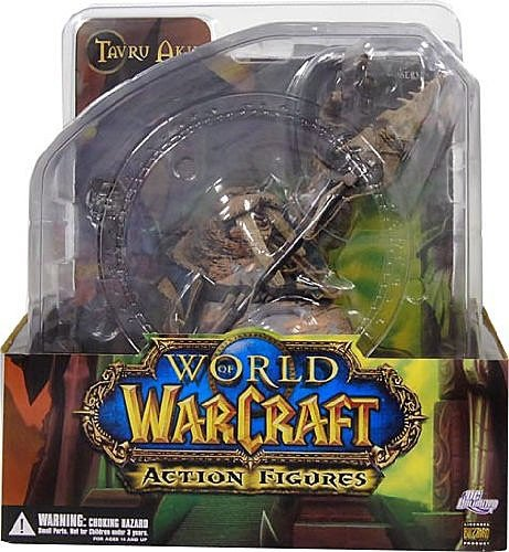 World of Warcraft Premium Series 1 Action Figure Tuskarr: Tavru Akua by DC Comics