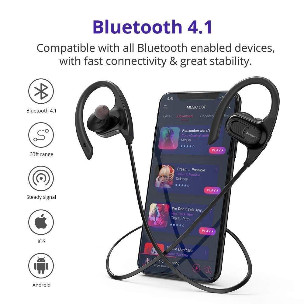 ac2907d2eaa501 Bluetooth Headphones,Tronsmart Encore Hydra IPX7: Amazon.co.uk: Electronics