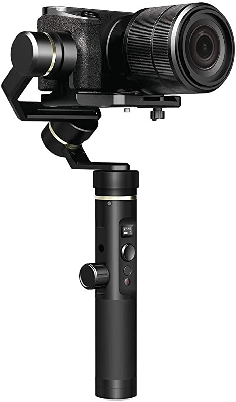 Feiyu Tech Gimbal Set G6 Plus - Estabilizador para cámara de ...