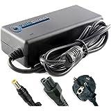 Visiodirect® Adaptateur alimentation chargeur secteur pour ordinateur portable TOSHIBA Satellite L775