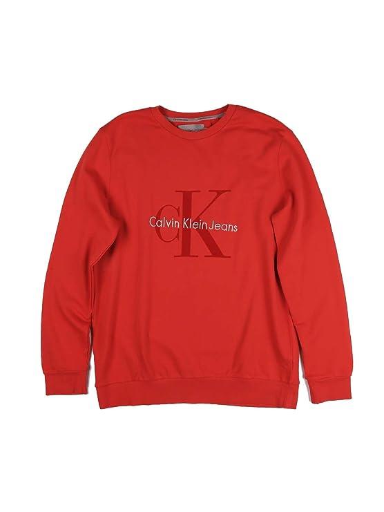 Sudadera Calvin Klein Jeans Haws Rojo XL Rojo: Amazon.es: Ropa y accesorios