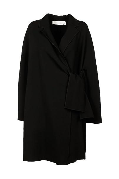 Victoria Beckham abrigo de mujer nuevo tie front negro EU 42 (UK 10) CTVV019: Amazon.es: Ropa y accesorios