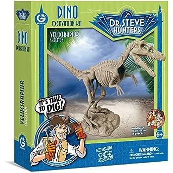 Geoworld Dino Dig  Excavation Kit - Velociraptor Skeleton