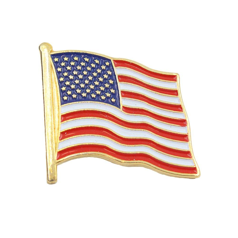 Epic Militaria Drapeau USA é toiles et rayures Pin's