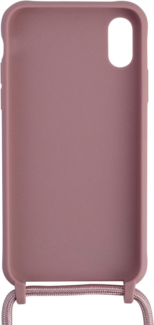 Ququcheng Kompatibel mit iPhone 7 Plus//8 Plus H/ülle,Handykette H/ülle Silikon Seil Necklace Handyh/ülle mit Kordel Tasche TPU Bumper Schutzh/ülle f/ür iPhone 7 Plus//8 Plus-Blau