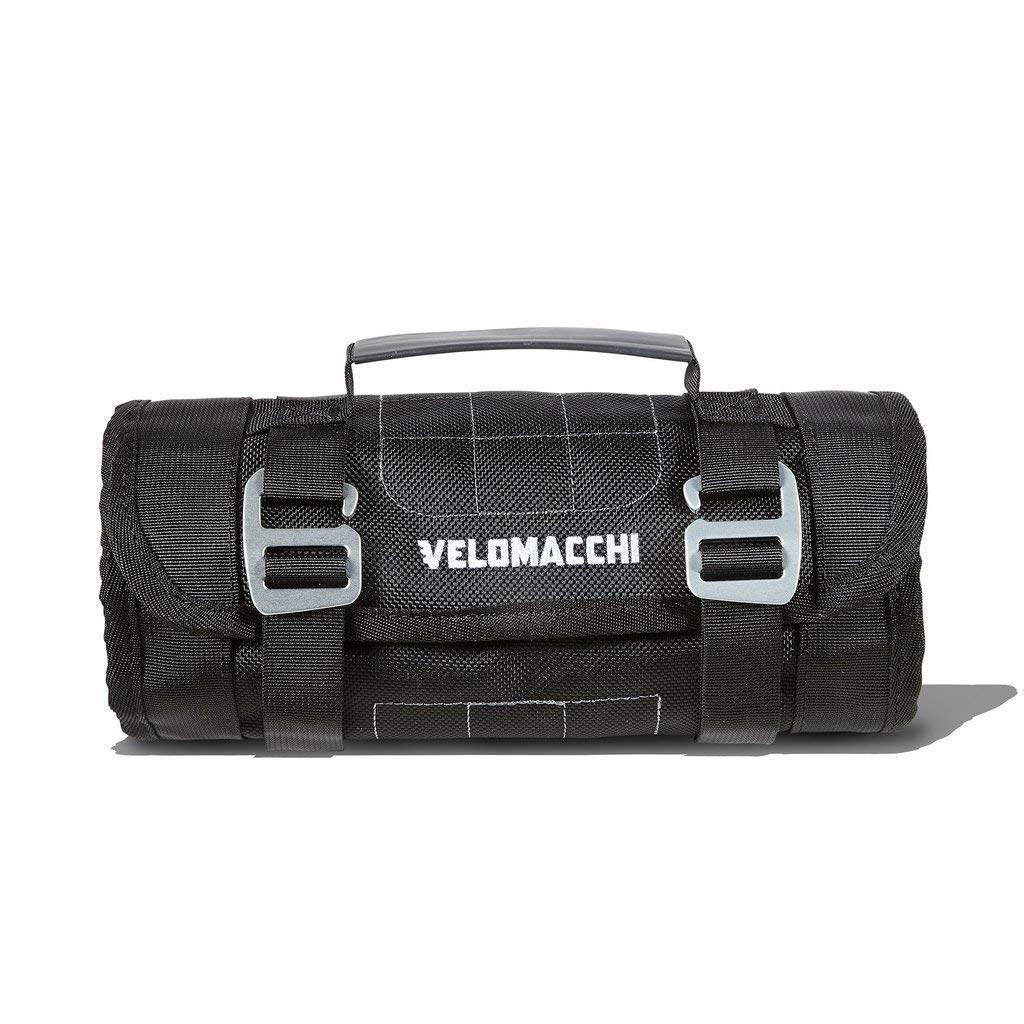 VELOMACCHI Speedway Multi Pocket Universal Motorcycle Tool Kit Roll COMINU010916