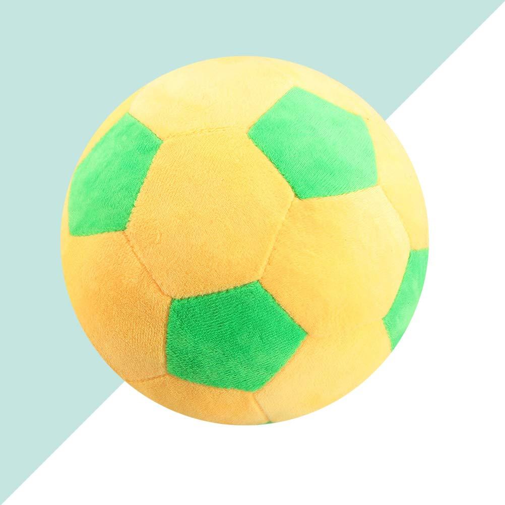 LIOOBO Giocattolo del Pallone da Calcio in Peluche Cuscino Calcio Morbido per Bambini