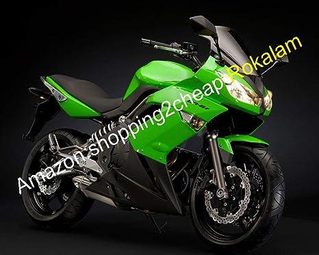 Amazon.com: Ninja 650R Fairing Kit For Kawasaki ER-6F 09 10 ...
