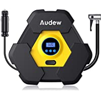 AUDEW Portable Air Compressor Pump Auto Digital Tire Inflator 12V 150 PSI Tire Pump for Car Truck Bicycle RV and Other Inflatables
