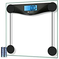 Etekcity Digital Bathroom Body Weight Scale, High Precision Smart Step-on Technology, Tempered Glass, Backlit Display…