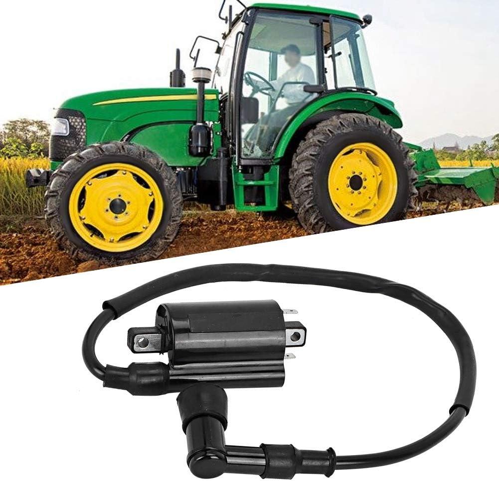 Gorgeri Sistema de encendido del tractor accesorio de reemplazo de tractores de jard/ín de bobina de encendido apto para AM120732