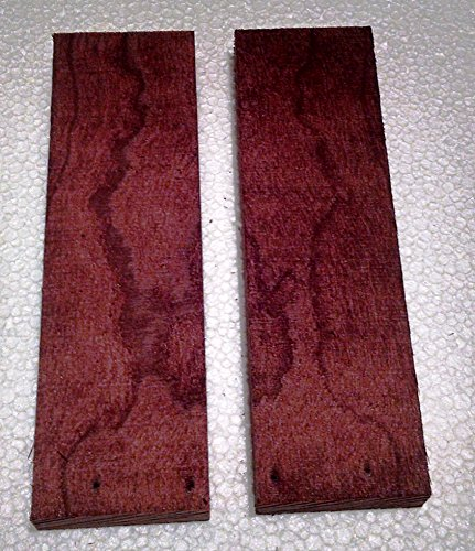Rare Geo Thermal Dried Cherry Knife Scales