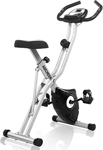 ANCHEER Folding Exercise Bike