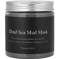 Salmue Máscara de Barro del Mar Muerto, mascarilla Facial hidratante mascarilla nutritiva - 250 g