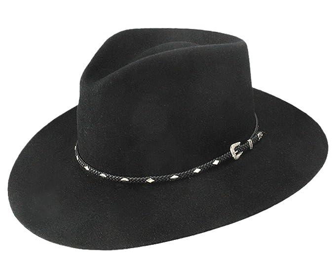 Stetson Men s 4X Diamond Jim Fur Felt Cowboy Hat at Amazon Men s Clothing  store  310ad451563d
