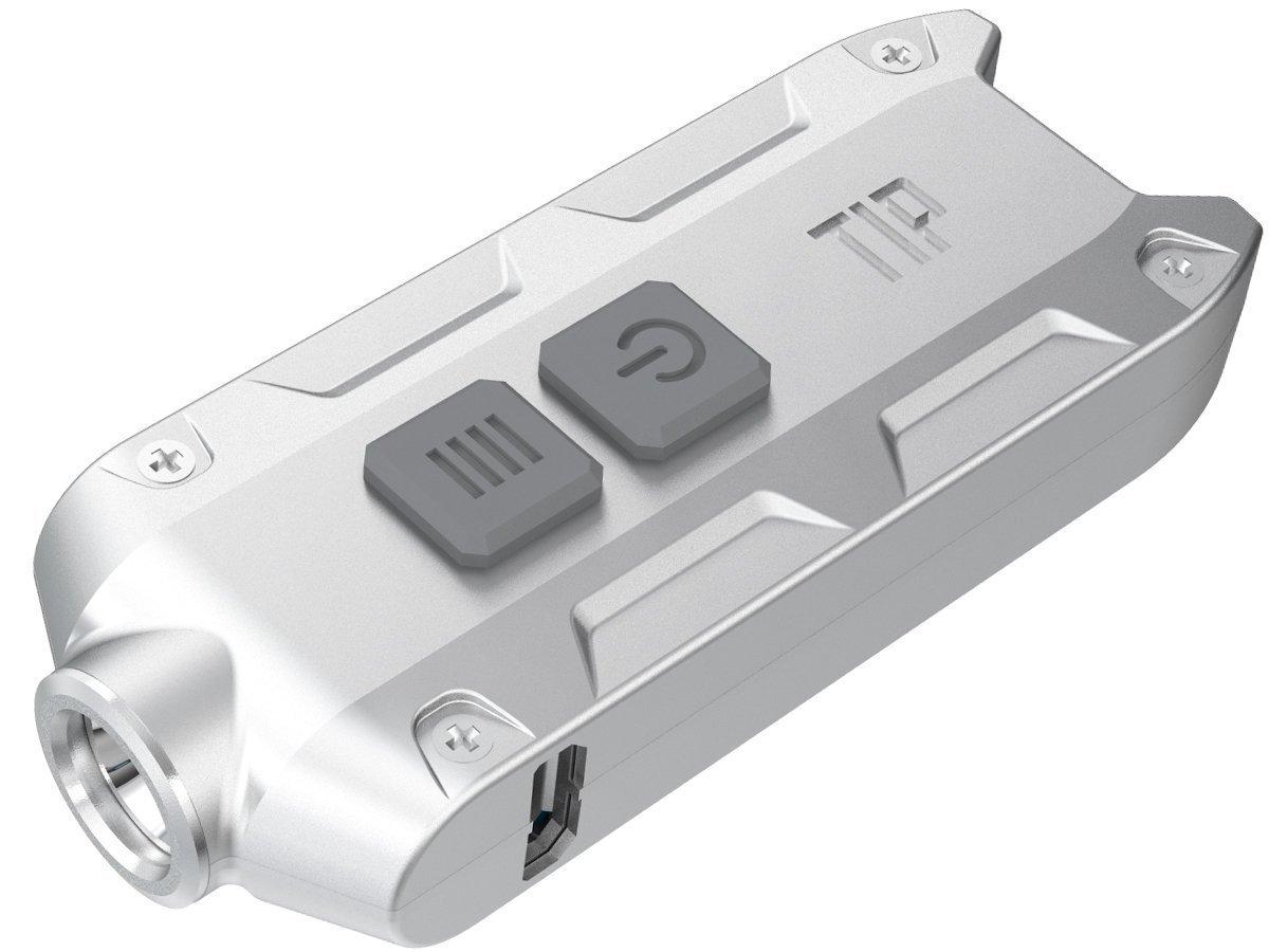 NITECORE TIP LEDキーライト B01LESQY74 (白色LED) B01LESQY74 シルバー LEDキーライト (白色LED) シルバー (白色LED), IVORIC MOMENT:6111ac94 --- ijpba.info