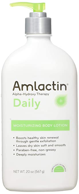 Amlactin 12 Moisturizing Lotion 567 G 20 Oz