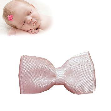 Amazon Com Trustay Clip Organza Baby Hair Bows Best No Slip