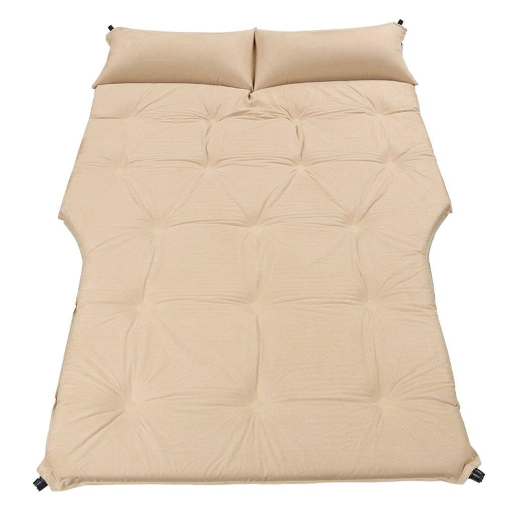GYP 屋外のキャンプの水分パッドオフロード車のカーベッド屋外の車のショックベッド自動車での移動ベッドの車自動インフレータブルマットレス昼寝 ( 色 : B )   B077X985HN