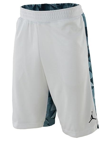 4aaa179c6e63 Jordan Air Jordan Retro 7 Printed Basket Ball Short Mens Style  642594-100  Size  L