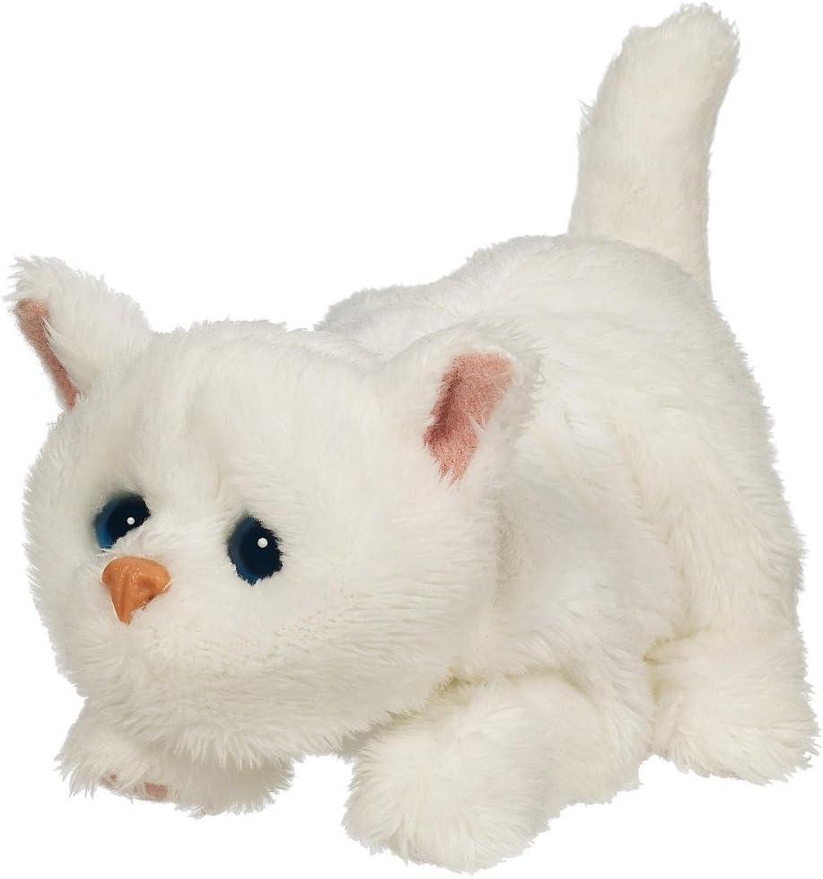 Amazon Com Furreal Friends Snuggimals White Kitten Sphinx Toys Games