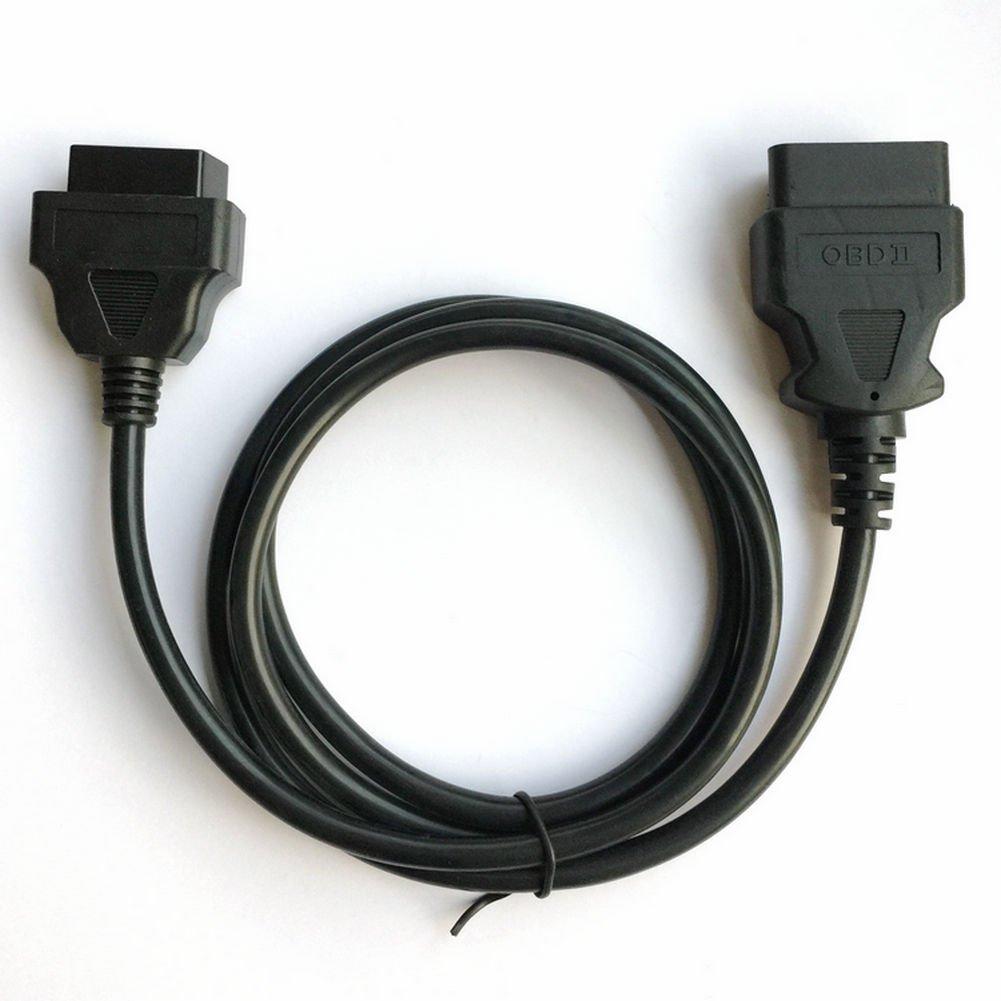 Hr-tool ® OBD mâle vers OBD femelle câble d'extension pour OBD2Interface scanner Diagnostiquer HanrainTool