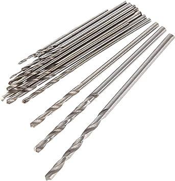 20Pcs 0.3-1.6mm Shank Mini Micro Drill Bit Set Twist Drill DIY Kit Rotary Tools