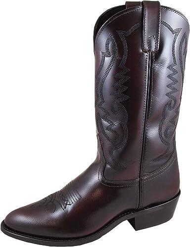 black cherry cowboy boots