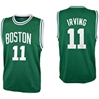Basketball Kyrie Irving Kelly Green Boston Jersey with Shorts