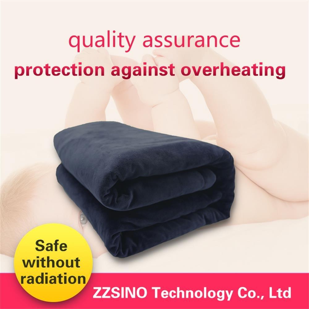zzsino Smart Wi Fi climatizada manta eléctrica doble (54in70in) color azul: Amazon.es: Hogar