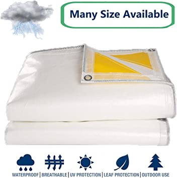 Boat cover Protective cover Tarpaulin Cover Fabric Cover 180g//m² 5x5m white