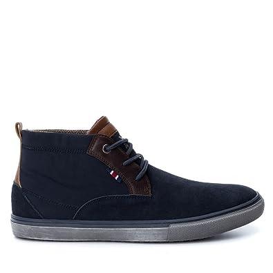 XTI Men 047083 BOTÍN DE HOMBRE 047083 PIEL Hombre: Amazon.es: Zapatos y complementos