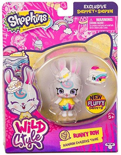 Shopkins Wild Style Bunny Bow Shoppet and Carotta Cake Exclusive
