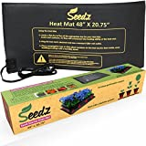 "LATEST EDITION Seed Starter Heat Mat - Waterproof Seedling Heat Mat for Your Home Garden 48""x20.75"""