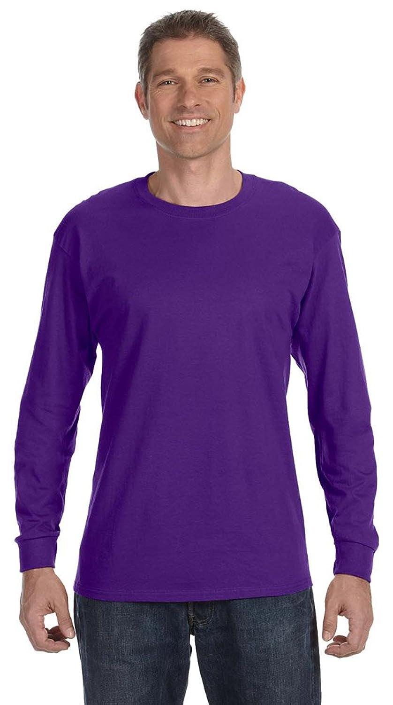 Jerzees 5.6 oz., 50/50 Heavyweight BlendTM Long-Sleeve T-Shirt (29L) DEEP PURPLE