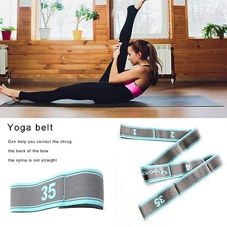 Banda De Resistencia De Yoga, Cinturón De Nylon Ajustable, 9 ...