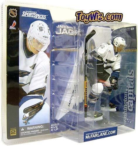 (McFarlane Toys NHL Sports Picks Series 2 Action Figure: Jaromir Jagr (Washington Capitals) White)