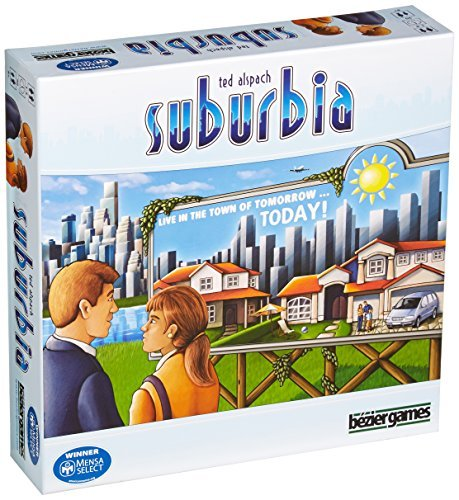 Bezier Games Suburbia Board Game by Bezier Games
